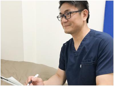 施術の検診とアフターケア【医師対応】
