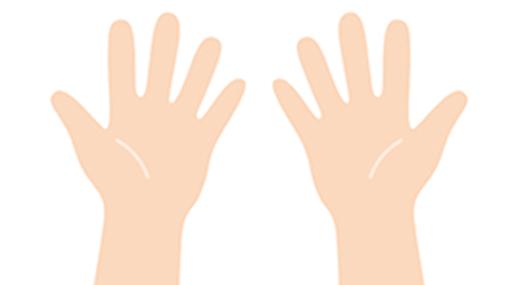 1回(1日)の注入で打てる量両手のひらサイズ分 20cc(片手10cc)の注入が可能です。※手のひらに収まる範囲の注入が可能です。