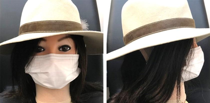 フェイスバンテージカバー例(マスク・帽子・ウィッグ)2