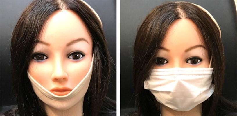 フェイスバンテージカバー例(マスク・帽子・ウィッグ)1