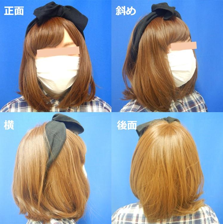 フェイスバンテージカバー例(マスク・帽子・ウィッグ)3